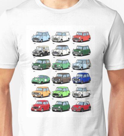 Mini time line Unisex T-Shirt