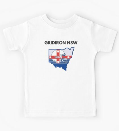 Gridiron NSW Merchandise Kids Tee