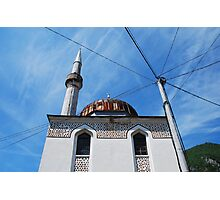 Mosque in Travnik Photographic Print