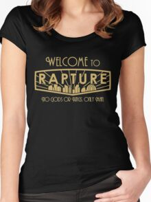 Bioshock Welcome to Rapture Women's Fitted Scoop T-Shirt