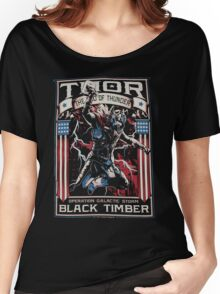 The God Of Thunder Galactic Women's Relaxed Fit T-Shirt