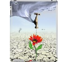 Breaking the Drought (revised) iPad Case/Skin