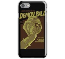 The Great Revenge of the Demon Ball iPhone Case/Skin