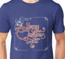 Merry Christmas Invitation Card Unisex T-Shirt
