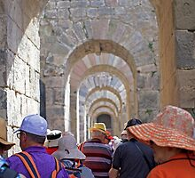 underneath the arches...Sardis tour by Jan Stead JEMproductions