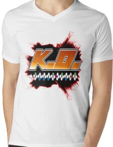 Knock Out 10 Hit Combo Mens V-Neck T-Shirt