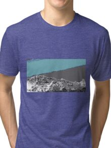 morning light turquoise Tri-blend T-Shirt