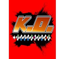 Knock Out 10 Hit Combo Photographic Print