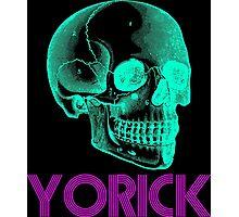Yorick - neon Photographic Print