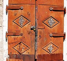 Metal Door in Mostar by jojobob
