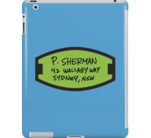 P. Sherman iPad Case/Skin