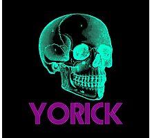 Yorick - Sticker Photographic Print