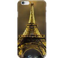 Eiffel at Night iPhone Case/Skin