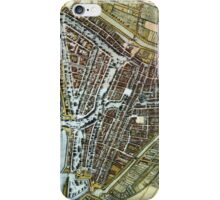 Vintage Map of Rotterdam Netherlands (1649) iPhone Case/Skin