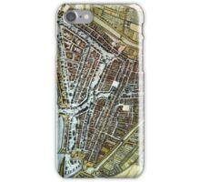 Vintage Map of Rotterdam Netherlands (1649) iPhone Case/Skin