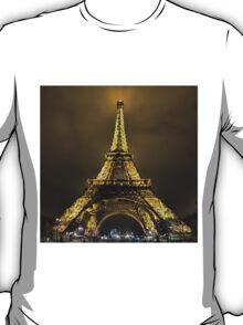 Eiffel at Night T-Shirt