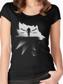 Geralt Medallion Women's Fitted Scoop T-Shirt
