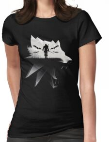 Geralt Medallion Womens Fitted T-Shirt