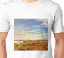 Across the Lake (Digital Art) Unisex T-Shirt