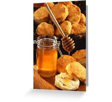 Delicious Honey Jar Greeting Card