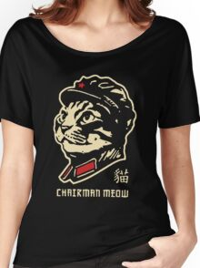 chairman meow Women's Relaxed Fit T-Shirt