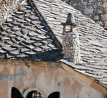 Window in Mostar by jojobob
