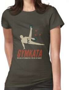 Gymkata t shirt Womens Fitted T-Shirt