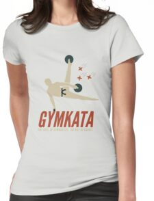 Gymkata t shirt Womens Fitted T-Shirt