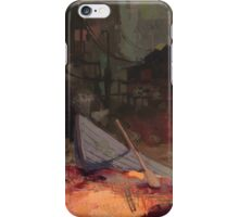 BOAT VILLAGE iPhone Case/Skin