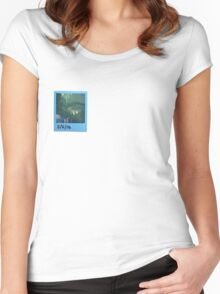 Polaroid Print Women's Fitted Scoop T-Shirt