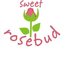 Sweet Rosebud by evisionarts