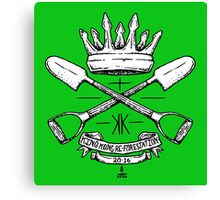 KKRF Coat of Arms Canvas Print