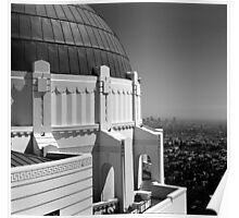 LA from Griffith Observatory Poster