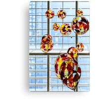 Colored Glass Balloons On Ceiling Canvas Print