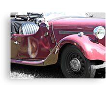 1949 Singer Roadster  Canvas Print
