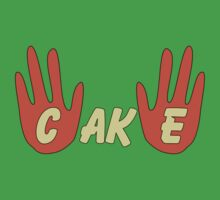 Cake (Cartoon Style) Kids Tee
