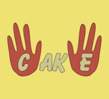 Cake (Cartoon Style) Baby Tee