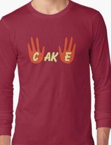 Cake (Cartoon Style) Long Sleeve T-Shirt