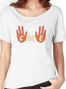 Cake (Cartoon Style) Women's Relaxed Fit T-Shirt