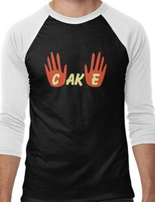 Cake (Human Style) Men's Baseball ¾ T-Shirt