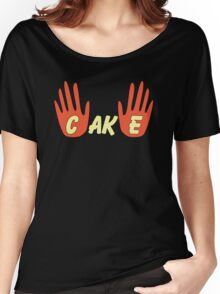 Cake (Human Style) Women's Relaxed Fit T-Shirt