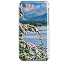 CADES COVE, WINTER iPhone Case/Skin
