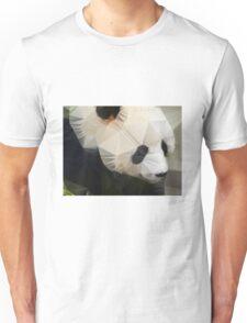 Polygon art panda Unisex T-Shirt