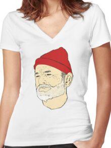 Bill Women's Fitted V-Neck T-Shirt