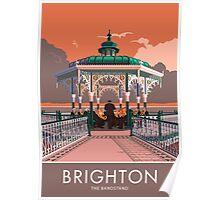 Brighton, Bandstand Poster