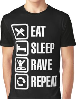 Eat and Repeat Graphic T-Shirt
