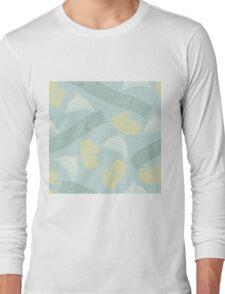Winter scarves, hats and gloves design Long Sleeve T-Shirt