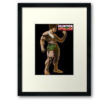 Hunter x Hunter Gon Frenccess Framed Print