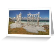 Coastal Sculpture Greeting Card