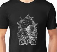 snail of hearts [negative] Unisex T-Shirt